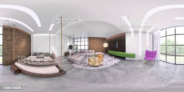 Modern studio apartment 360 equirectangular panoramic interior picture id1096104636?b=1&k=6&m=1096104636&s=612x612&h=ym4l6rbq8jh5ln2w34hwlspkllxabjtaogj9mpcaawq=