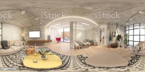 Modern studio apartment 360 equirectangular panoramic interior picture id1096104684?b=1&k=6&m=1096104684&s=612x612&h=odyjszfohmhrja1pm9hdbvzjd4qwqsqs60onwnvmphw=
