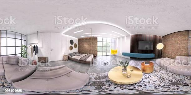 Modern studio apartment 360 equirectangular panoramic interior picture id1096104688?b=1&k=6&m=1096104688&s=612x612&h=rdesqlfaqrcw2wdyqtcwqfzxw0ypwovnx1mpeaey ca=