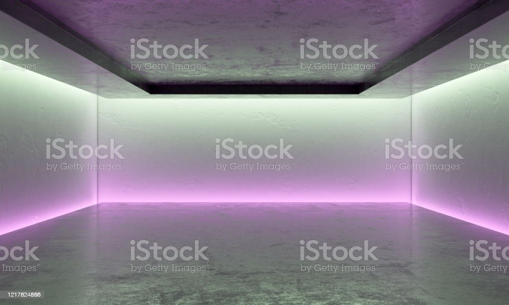 Modern Studio With Led Ceiling Lights Stock Photo Download Image Now Istock