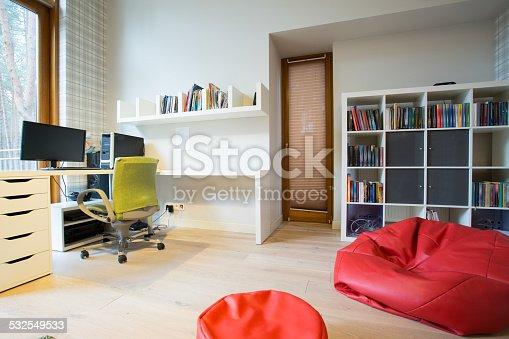 istock Modern study room 532549533