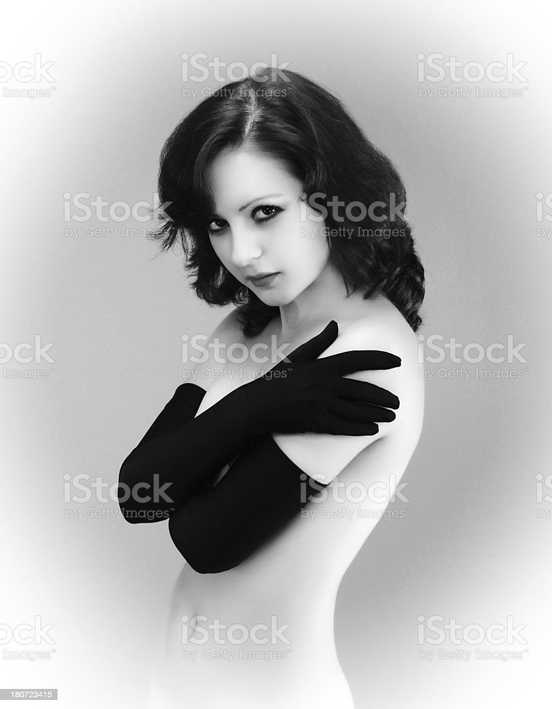 Modern style. Black and White. royalty-free stock photo