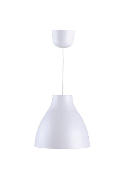 Modern style ceiling lamp stock photo