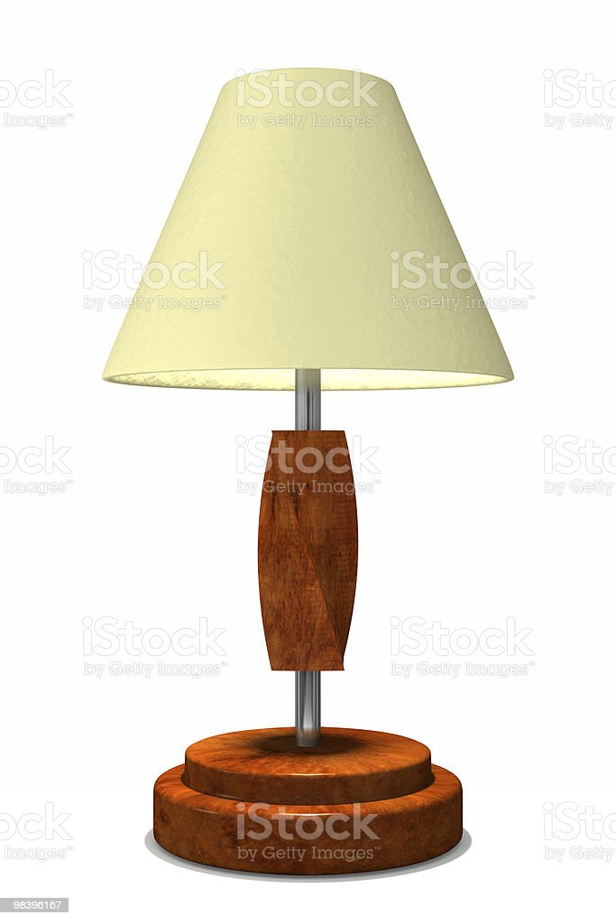 Modern style lamp royalty-free stock photo