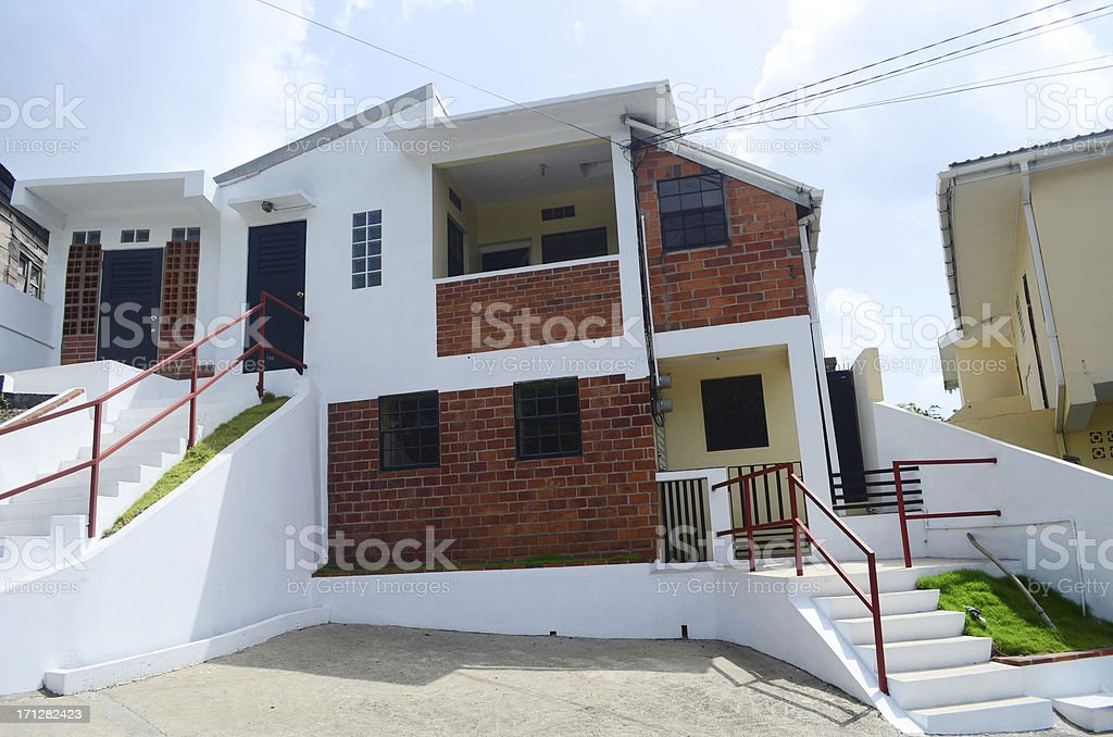 modern stylish apartment building royalty-free stock photo