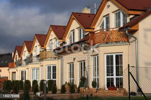 493502515 istock photo Modern suburban houses 140279459