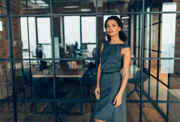 現代成功的女實業家 - 膝蓋以上 個照片及圖片檔