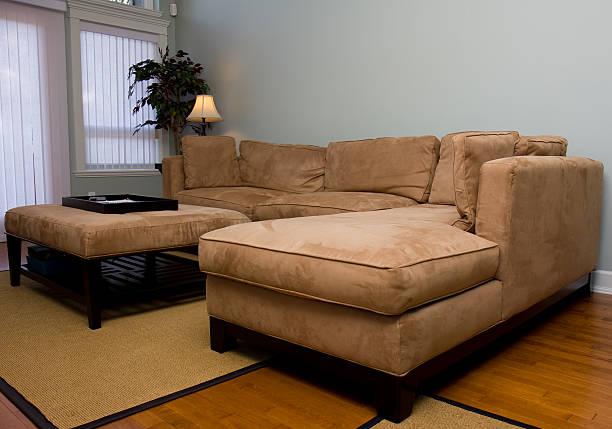 Modern Suede Sofa