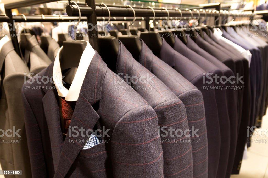 Modern suit shop – Foto
