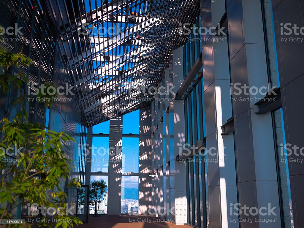 Modern sunroom royalty-free stock photo