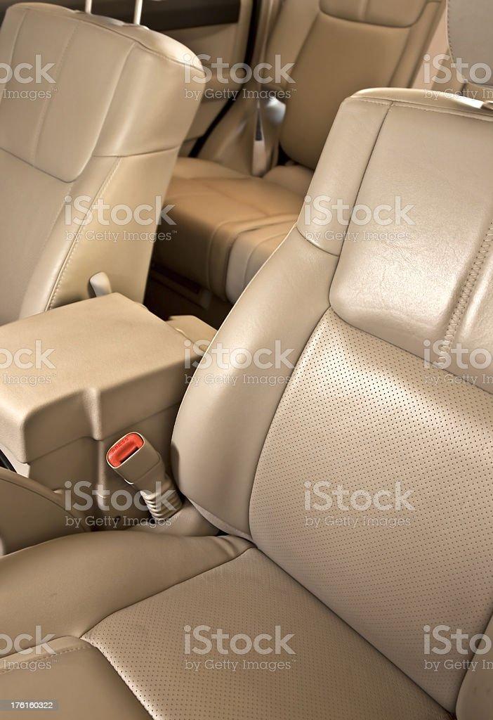 Modern SUV Interior royalty-free stock photo