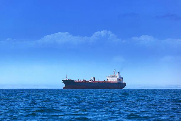 modern tanker stock photo