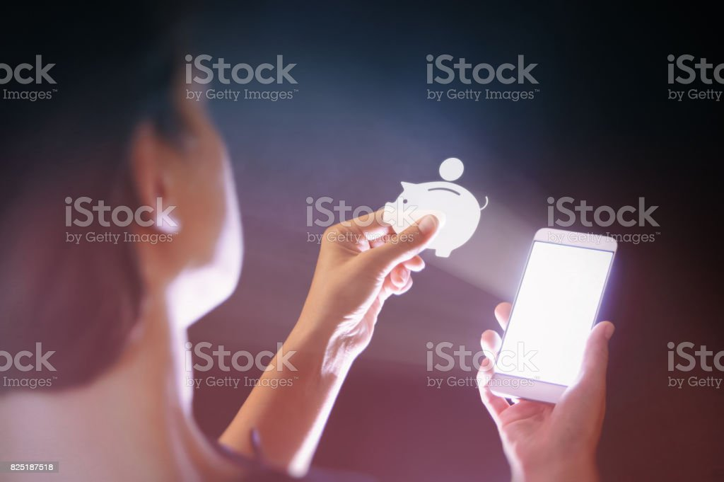 Modern technologies in banking stock photo