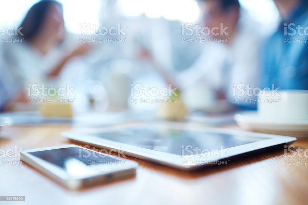 Modern technologies stock photo