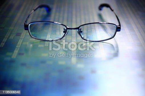 istock modern technology blue block big data analysis 1135006340