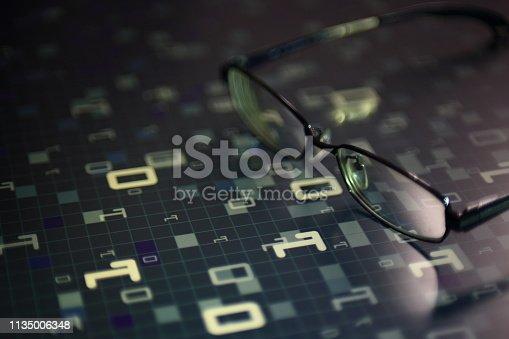 istock modern technology blue block big data analysis 1135006348