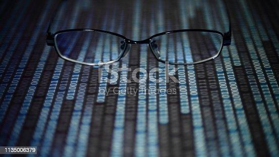 istock modern technology blue block big data analysis 1135006379