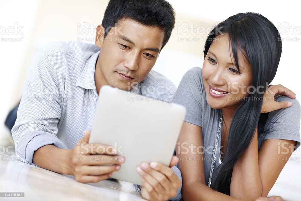 Modern technology has made life so much simpler royalty-free stock photo