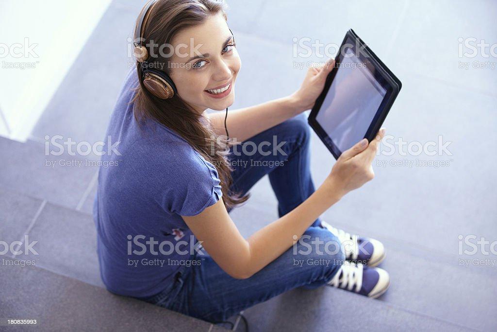 Modern technology royalty-free stock photo