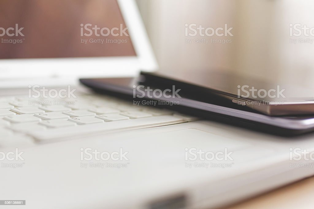 Modern technology stock photo