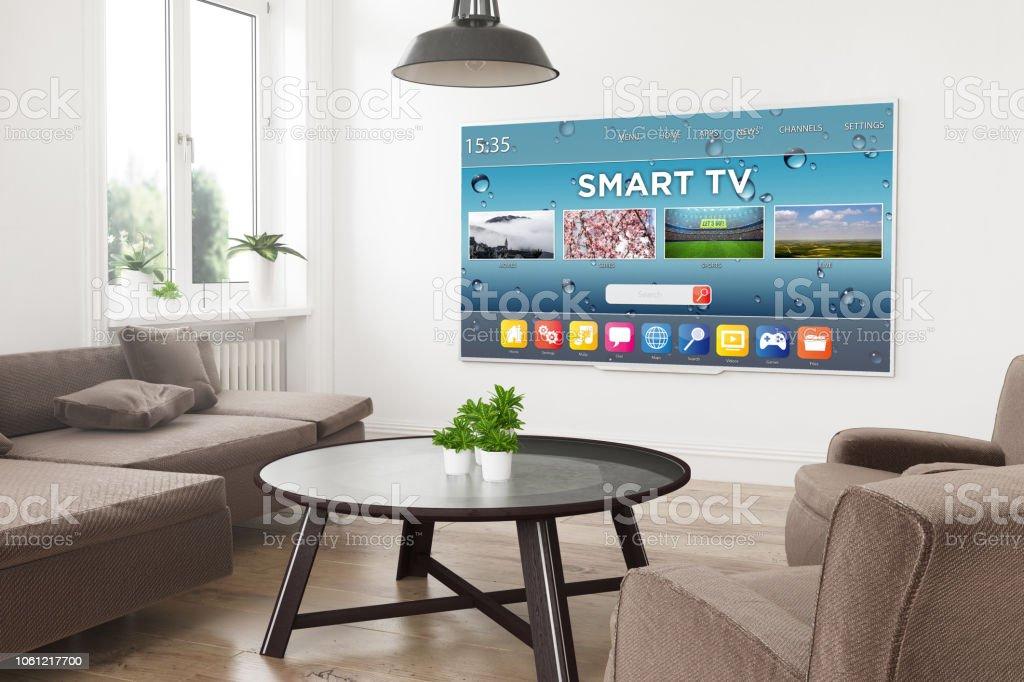 moderne Fernseher smart tv – Foto