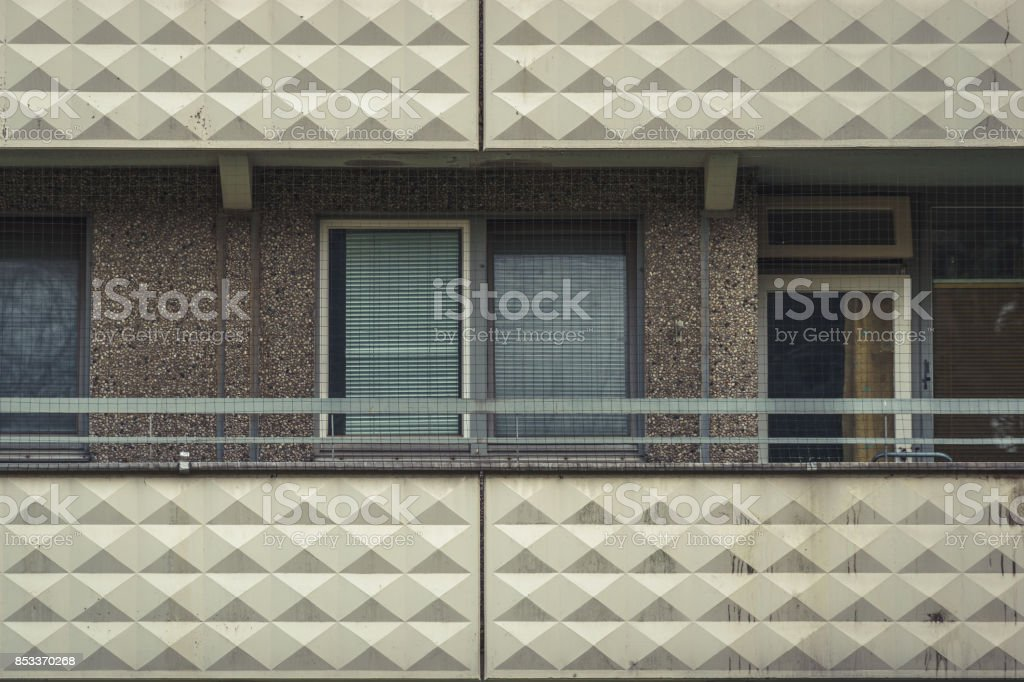 modern tenement building projects stock photo