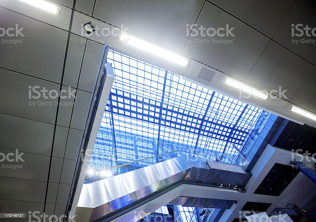 Modern Terminal royalty-free stock photo
