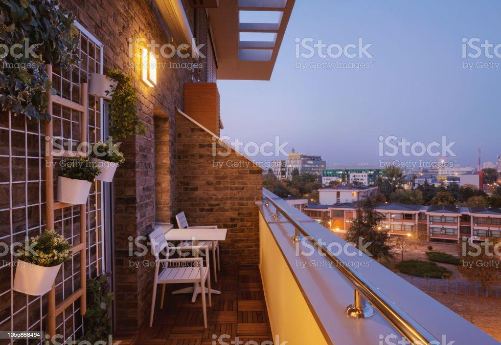 Moderne Terrasse Außen Stockfoto und mehr Bilder von ...