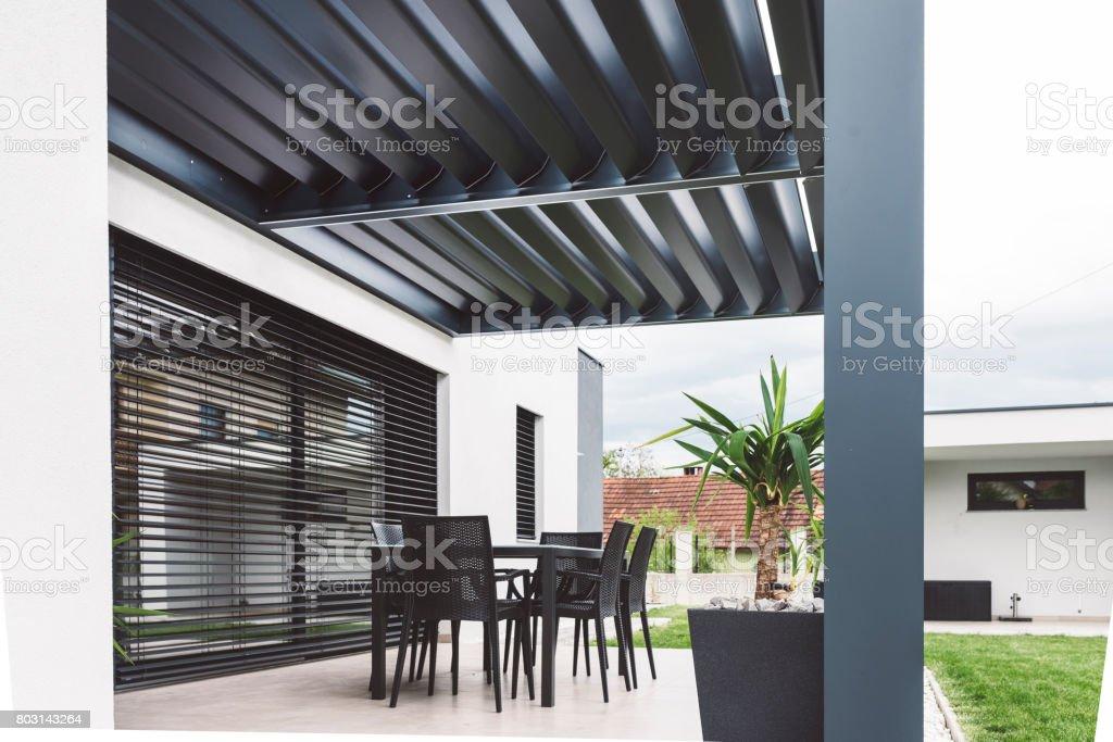 Ajuste De La Terraza Moderna Foto De Stock Y Más Banco De
