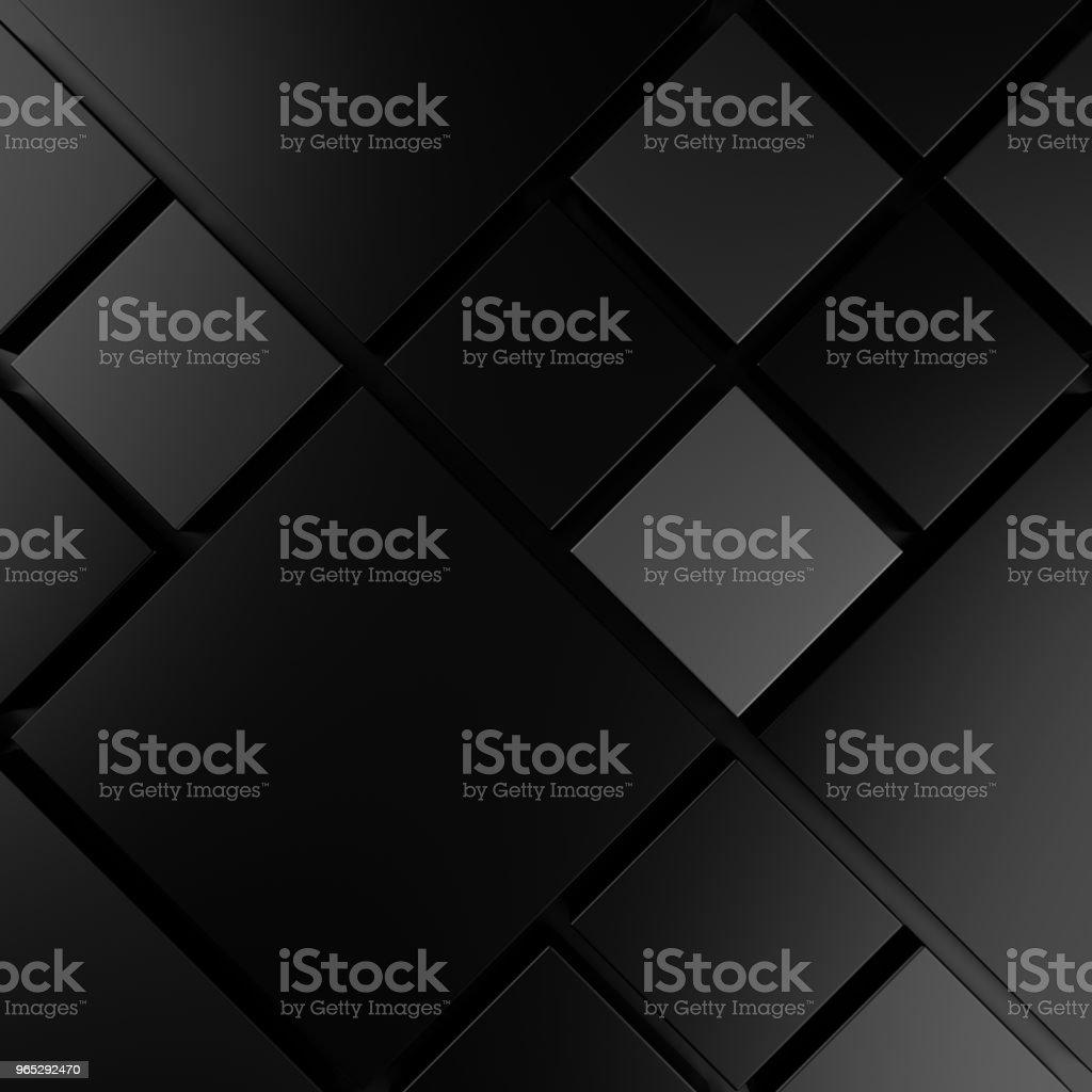 Modern tile wall. 3D rendering. zbiór zdjęć royalty-free
