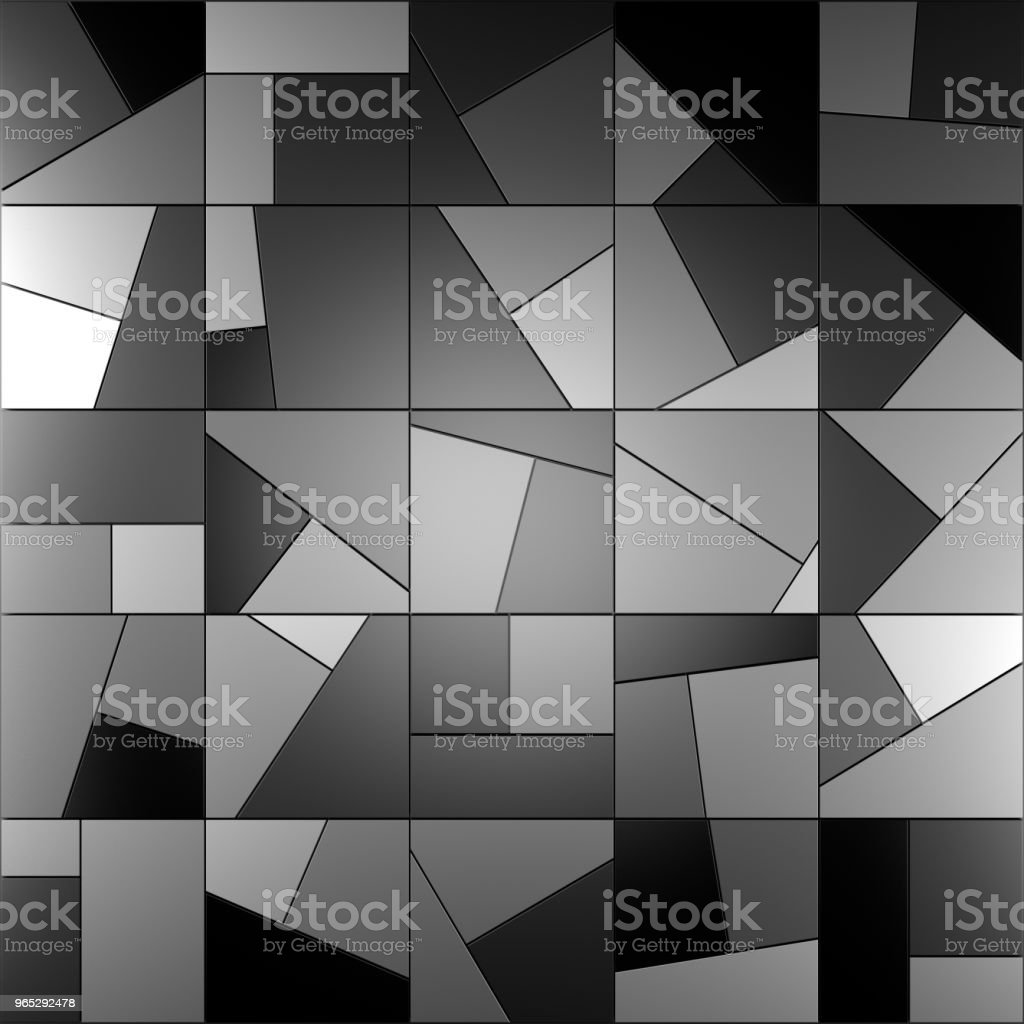 Modern tile wall. 3D rendering. royalty-free stock photo