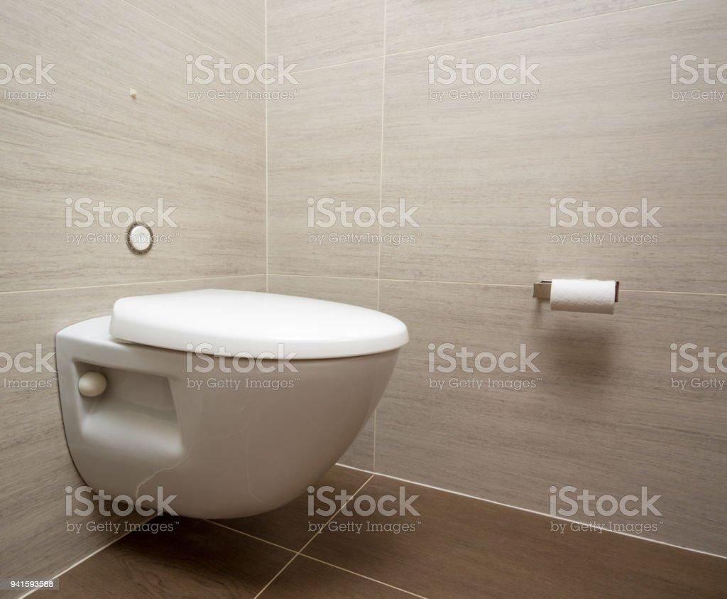 Moderne Toilette Oder Wc In Kreuzfahrt Schiff Kabine Stockfoto und ...