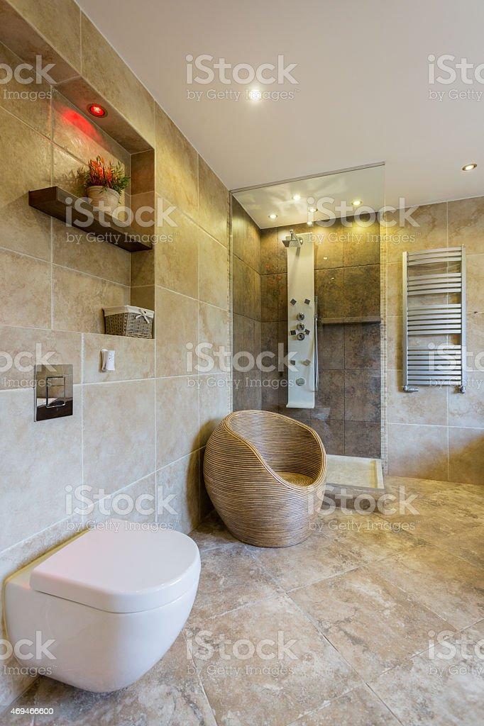 Moderne Toilette Stockfoto und mehr Bilder von Architektur
