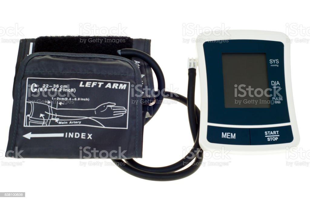 Modern tonometer stock photo