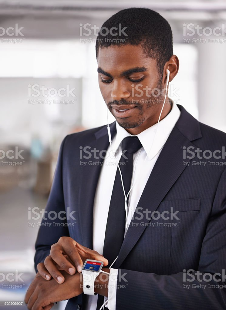 Modern tools for the trending businessman stock photo