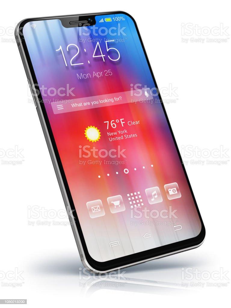 Moderne Touchscreen-smartphone – Foto