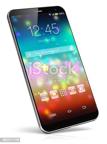 istock Modern touchscreen smartphone 960374758