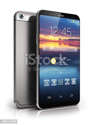 istock Modern touchscreen smartphone 965421668