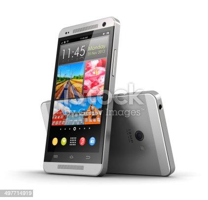 istock Modern touchscreen smartphones 497714919