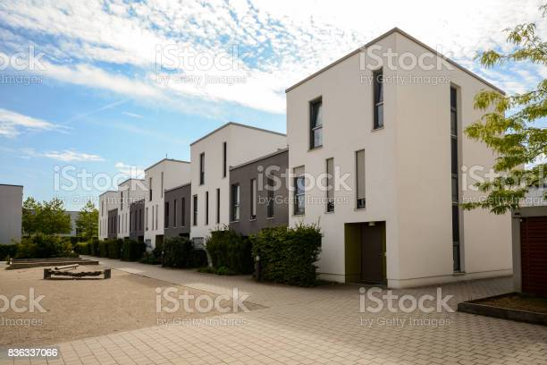 Modern townhouses in a residential area new apartment buildings with picture id836337066?b=1&k=6&m=836337066&s=612x612&h=1vmax8ddrvgu5dvhojv0x2pshrzbalxboj8y7n8etge=