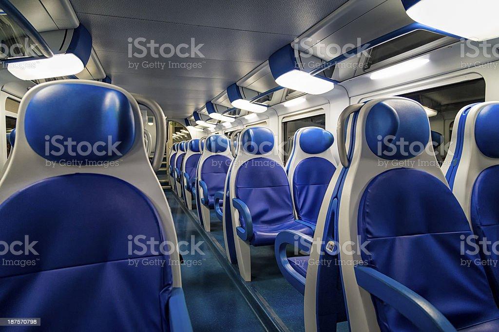 Moderne Train Interior – Foto