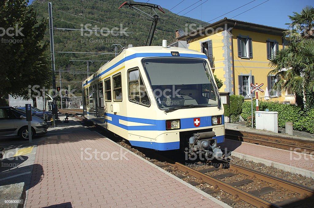 Modern Train royalty-free stock photo