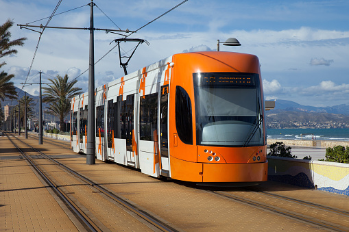 Moderna De Tranvía Foto de stock y más banco de imágenes de Aire libre