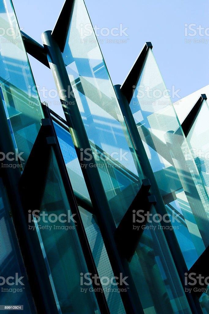 Modern Transparent royalty-free stock photo