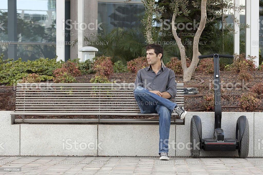 Modern transport lifestyle. stock photo