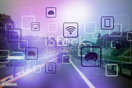 istock modern transportation and communication network 613880046