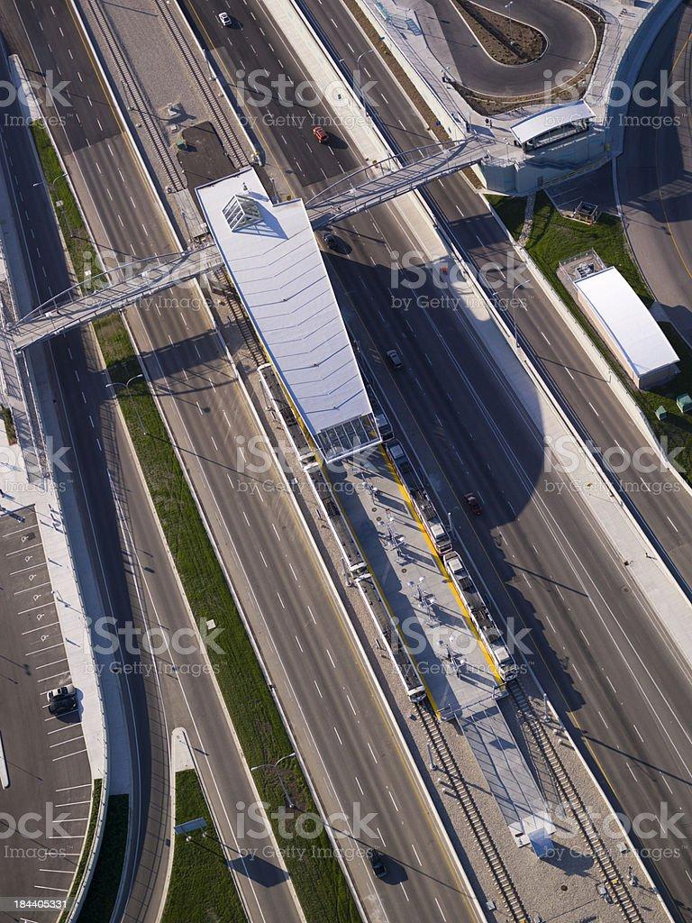 Modern Transportation Hub stock photo