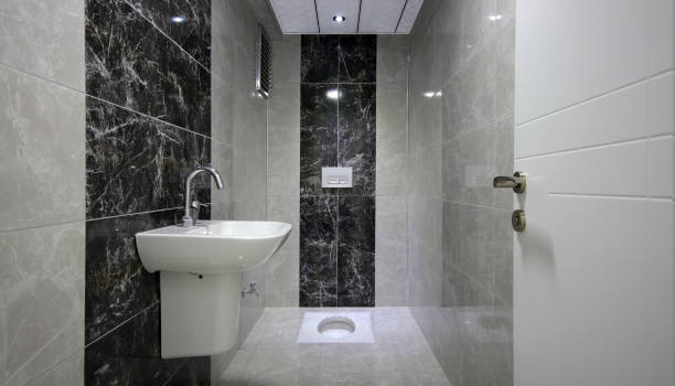 Modern Turkish Toilet at the Home