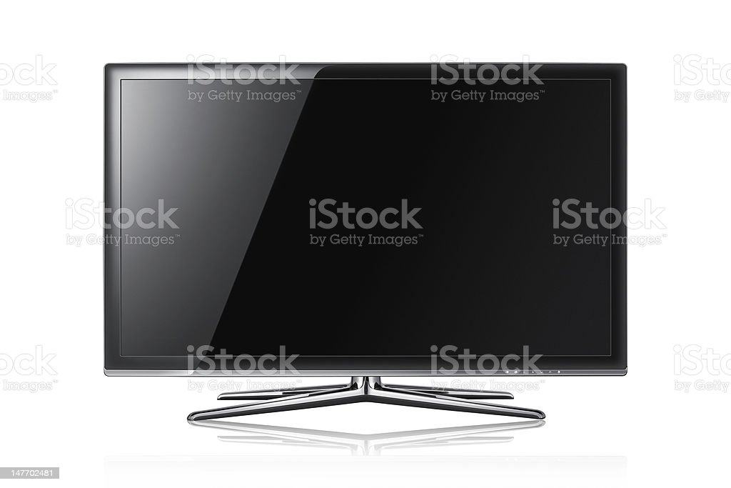 Modern tv panel stock photo