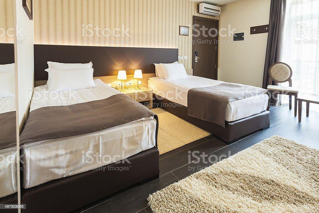 Modern Twin Bedroom Interior Stock Photo Download Image Now Istock